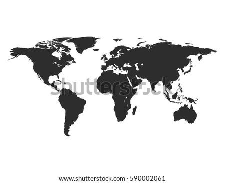 world mapvector
