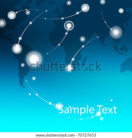 World map vector creative background. For business presentation. vector.