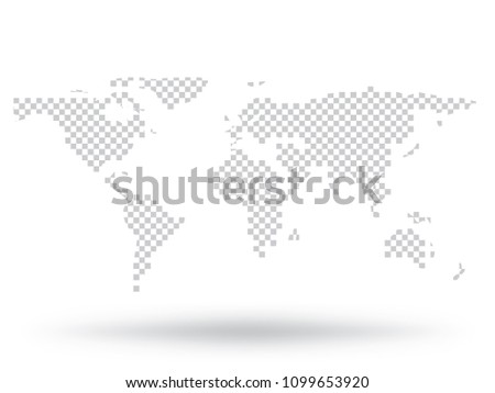 Flat topography vector background descargue grficos y vectores gratis world map vector isolated on white background flat earth gray similar template for web site gumiabroncs Gallery