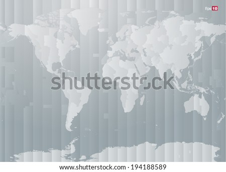 World time zones download free vector art stock graphics images world map with countries and timezones in editable vector format gumiabroncs Image collections