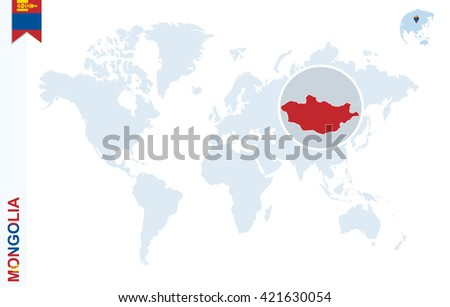 Mongolia mapa infografa descargue grficos y vectores gratis world map with magnifying on mongolia blue earth globe with mongolia flag pin zoom gumiabroncs Gallery
