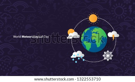 World Meteorological Day  Stock fotó ©