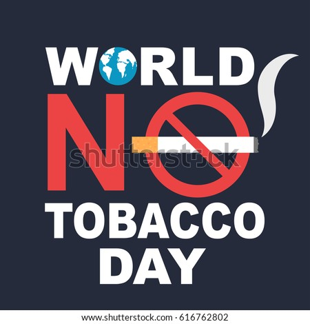World no tobacco day banner