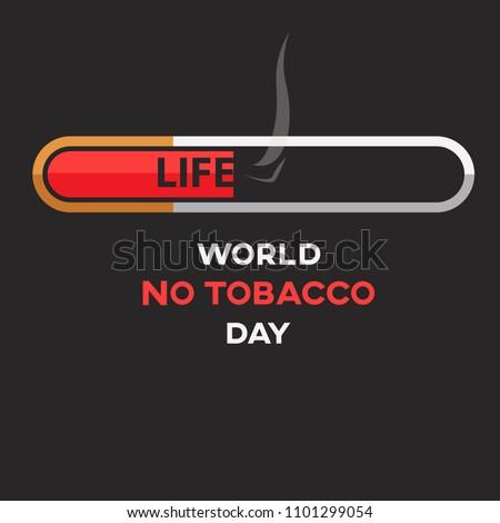 world no tobacco day text