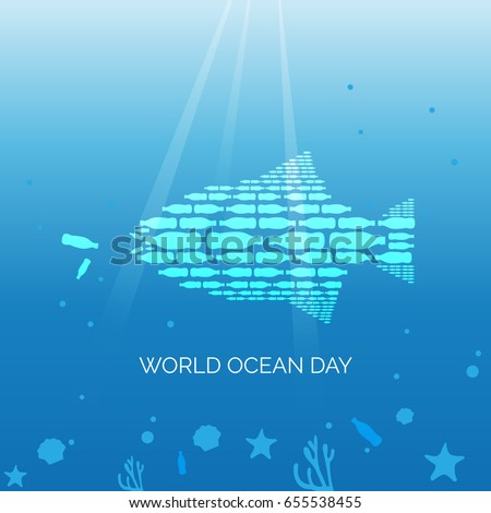 World Ocean Day Campaign Poster
