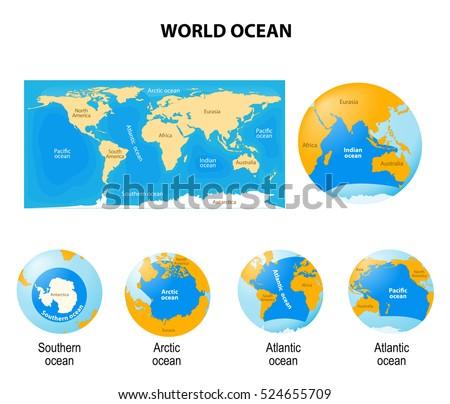world ocean or global ocean