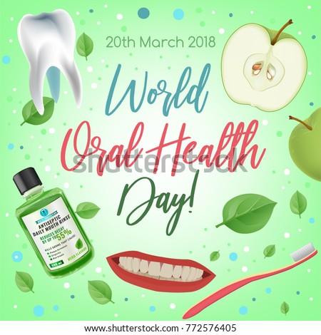 world oral health day design