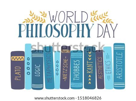 world philosophy day hand