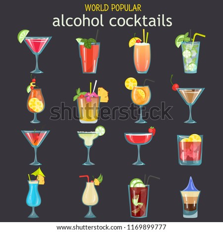 world popular alcohol cocktails