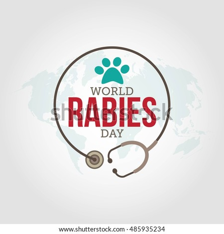 world rabies day vector