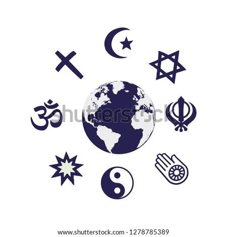 world religion symbols