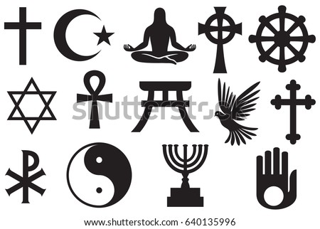 Religious Star Symbol Collection Download Free Vector Art Stock