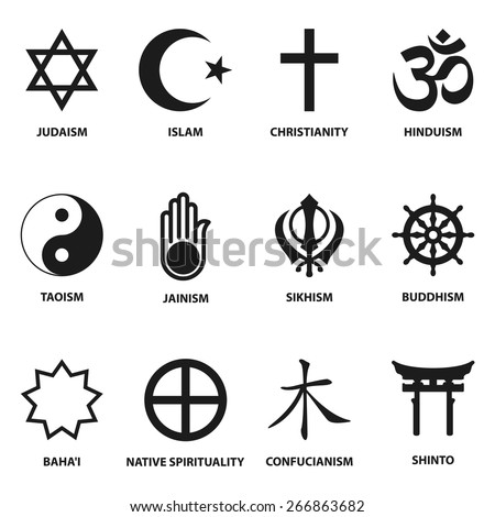 world religious sign and