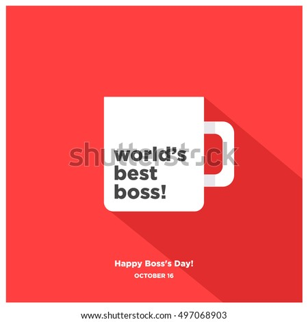 world's best boss mug   happy