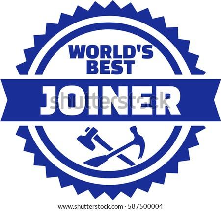 World's best Joiner emblem