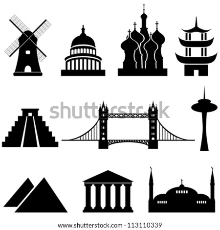 world's famous landmarks and
