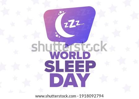 world sleep day holiday