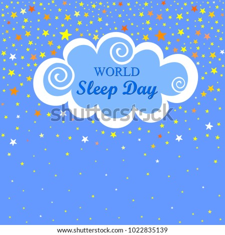 world sleep day international