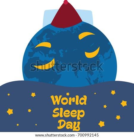 world sleep day  march earth