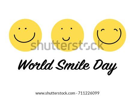 World Smile Day.
