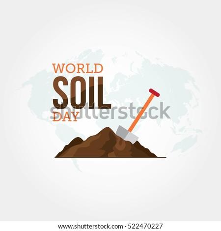 World Soil Day Vector Illustration.