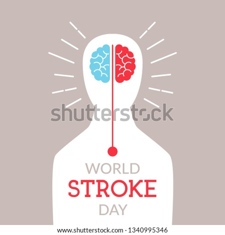 World Stroke Day Illustration