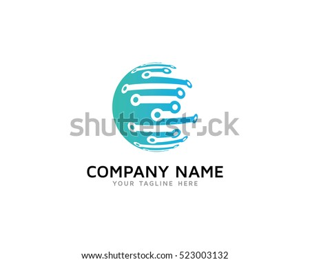 World Tech Logo Design Template