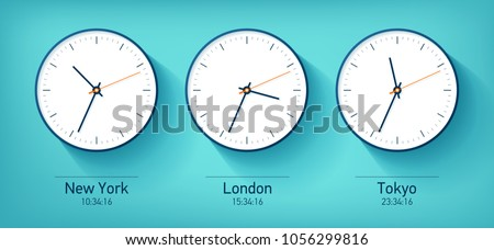 world time realistic simple