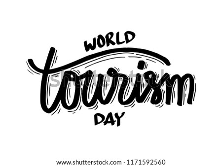 World Tourism Day concept