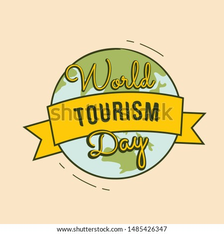 world tourism day free vector holiday tourism