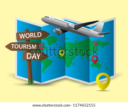 world tourism day tourism day illustration world tourism day vector