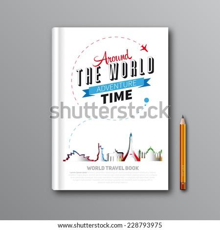 world travel book template