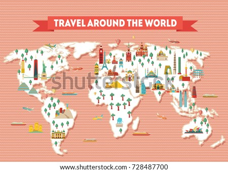 Map of india poster vector design illustration download free world travel map poster travel and tourism background vector illustration gumiabroncs Choice Image