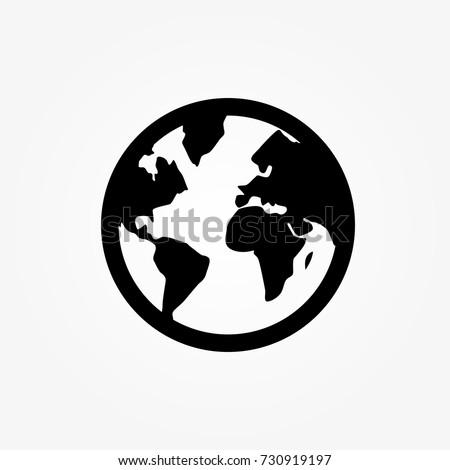 world   vector icon world icon