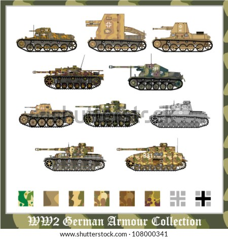 world war 2 german armour