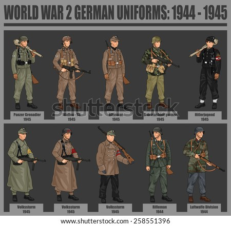world war 2 german soldiers in