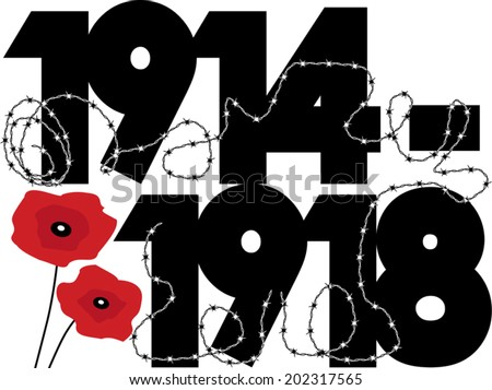 world war one symbolic graphic