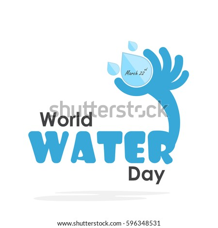 world water day illustration