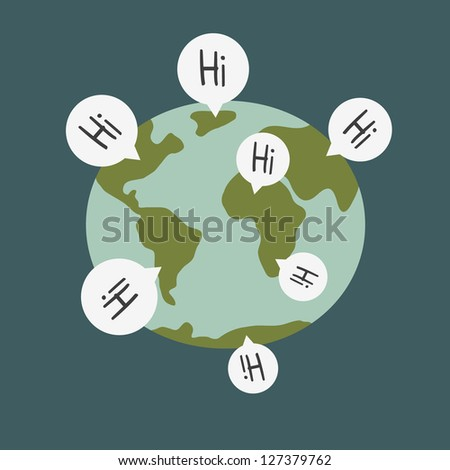 ShutterStock world wide communications 127379762