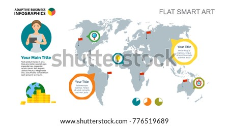 Sample money in the world vector download free vector art stock world wide company slide template gumiabroncs Choice Image