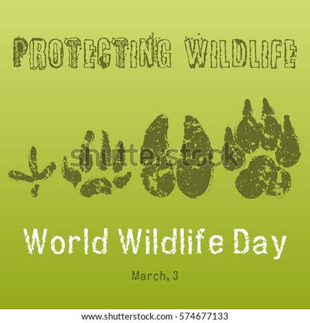 world wildlife day background