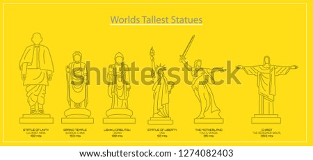 WORLDS TALLEST STATUES