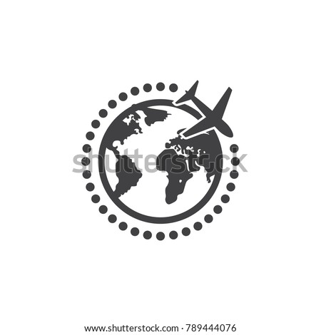 worldwide delivery icon. Shopping elements. Premium quality graphic design icon. Simple icon for websites, web design, mobile, info graphics on white background