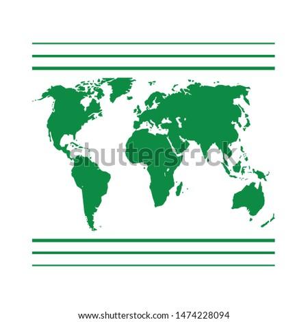 worldwide icon. flat illustration of worldwide vector icon. worldwide sign symbol