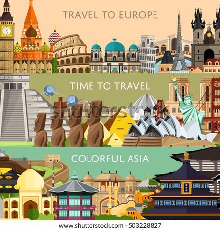 worldwide travel flyers famous