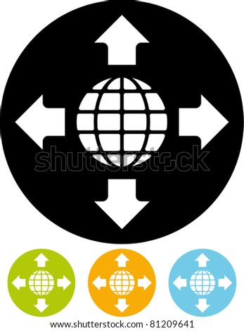 Worldwide – Vector icon