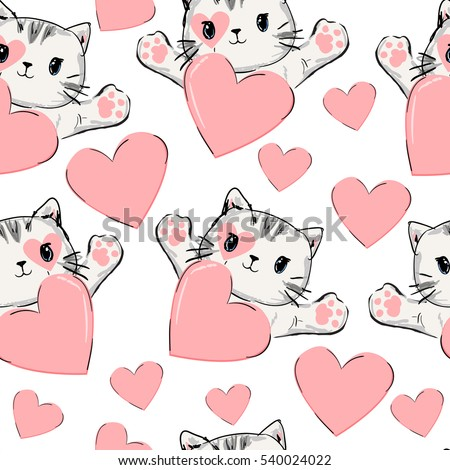 wrapping paper design valentine'