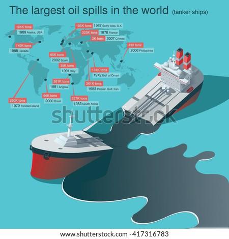 wrecked oil tanker ship oil