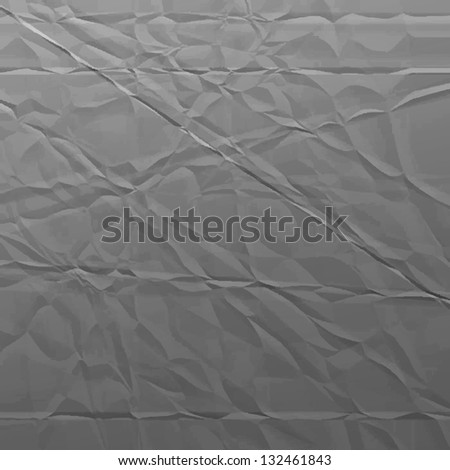 wrinkled paper. vector background. eps10