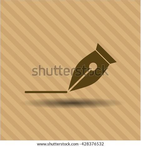 Writer vector icon